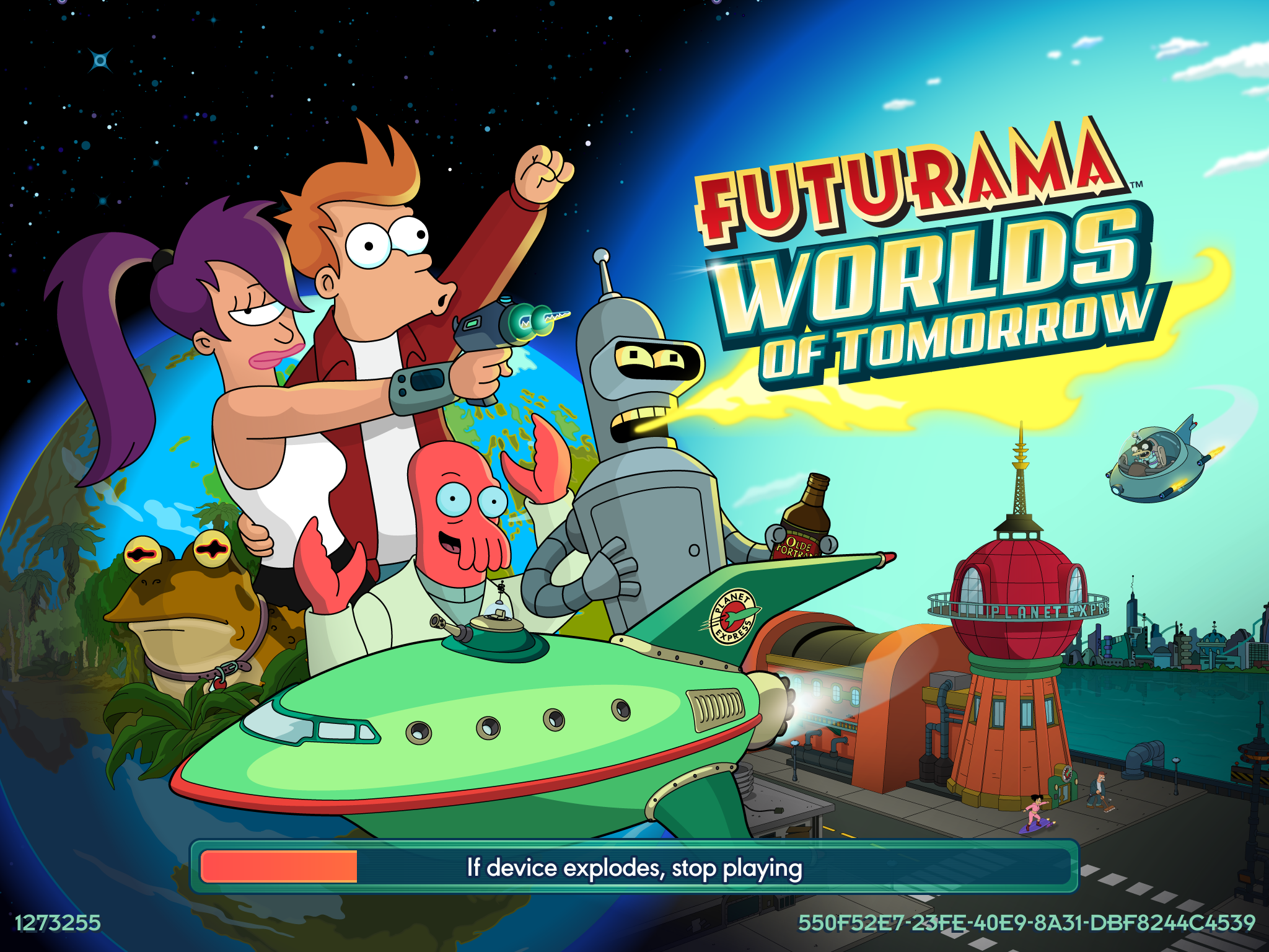 Comment bien commencer son jeu futurama World of tomorow ?